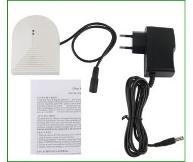 The most economical alarm system accessaries wireless glass break sensor detector 12v
