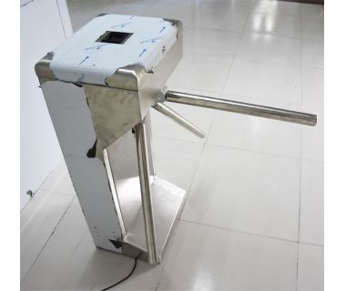304 stainless steel semi-automatic tripod turnstiles for bus station