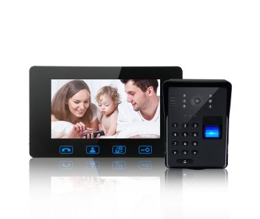 Wireless Visual Doorbell Fingerprint