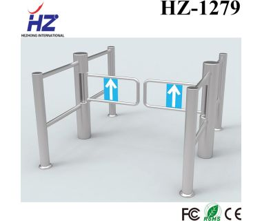 2019 Hot selling Electrical Automatic 304 stainless steel swing turnstile door