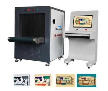 safety checking baggage scanner x-ray machine