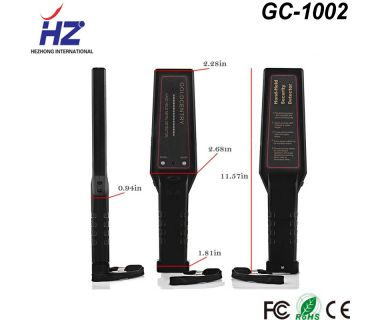 Super high sensitivity manual metal detector GC1002