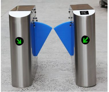 2019 pedestrian electronic security flap wing barrier HZ-1271